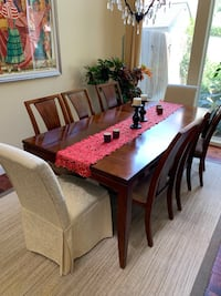Dining table, 10 chairs, china hutch  Bakersfield, 93311