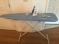 white and blue ironing board Silver Spring