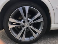 OEM MERCEDES SNOW TIRES AND RIMS  Coquitlam, V3J 1T7