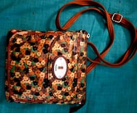 red, white, and green floral crossbody bag San Diego, 92122
