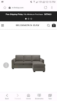 Charcoal sectional  Toronto, M1T 1T5