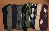 Men's size (small) Cardigan dress sweaters selling as a bundle