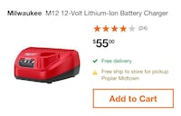 Milwaukee m 12 charger