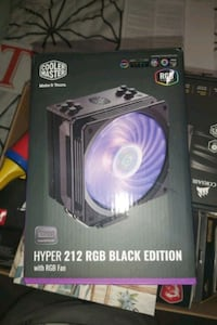 Cpu cooler: hyper 212 with rgb fan