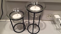 Two small candle holders Davie, 33328