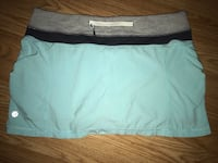 Lulu lemon tank top and shorts size 6-4 price $15 each North Vancouver, V7K 1A7