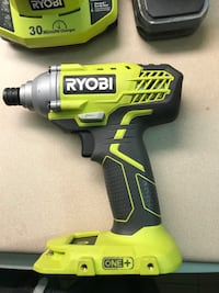 RYOBI IMPACT DRILL/ 2 batteries with 2 chargers