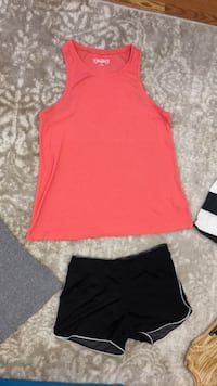 Pink Tank Top  and/or Black/grat shorts Elburn, 60119