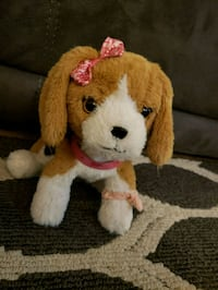 brown and white dog plush toy Salinas, 93907