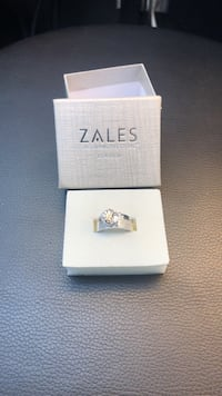 Ring Zale 925 S. Silver promise ring brand new Gaithersburg, 20879