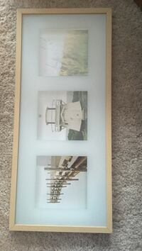 Ikea birch picture frame
