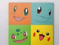 Pokemon canvas Hampton, 23663