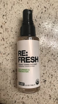 Re:fresh toning face mist