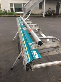 10 ft aluminum bending nrake with stand Spring Valley, 10977