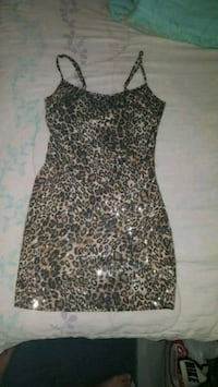CHEETAH PRINT DRESS FROM FOREVER 21 St. Catharines, L2P 3R6