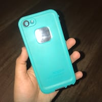 Teal iPhone 5 lifeproof brand case