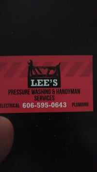 Lee's pressure washing and handyman services Gray