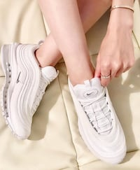 Nike Air Max 97 triple white str 39 Oslo, 0661