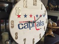 white and black wooden wall clock Germantown, 20874
