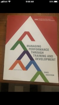 Managing Performance Through Training and Development - 7th Edition Calgary, T2N