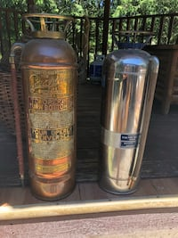 Antique Fire Extinguisher made from copper  King, L0G 1T0