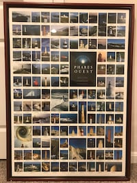 Phases Quest Lighthouses professionally framed   Stafford, 22554