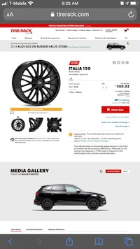 Oz Italia 150 wheels and winter Pirelli Tires Sterling, 20164