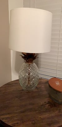 white and brown table lamp Virginia Beach, 23455