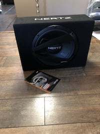 Hertz Subwoofer! Rated for 1000w!