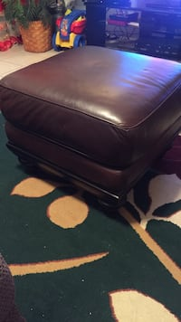 black leather padded rolling chair Woodbridge, 22193