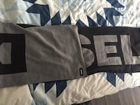 Diesel scarf- never worn, bought in pack with toque. Vancouver, V6A 1H6