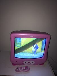 pink and purple CRT TV Silver Spring, 20904