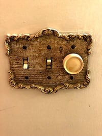 Antique light switch covers