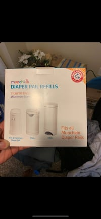 Baby diaper pail bags and deoderizer