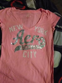 Women's Small Aero New York City top Cedar Rapids, 52403