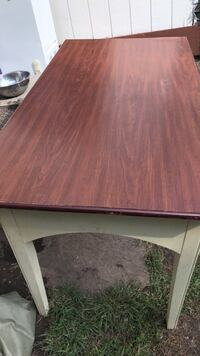 rectangular brown wooden dining table Syracuse, 13208