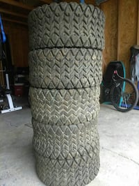 Set o5 ATV tires 25x10.00-12 Mag off road