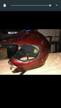red motocross dirt bike helmet screenshot Nashville, 37013