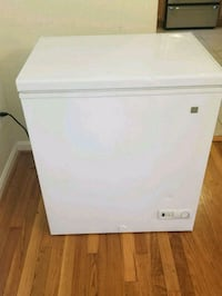 white single-door refrigerator Arlington, 22202