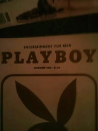 Selling some old playboy magazines.