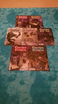 Courtney Crumrin Comic Book 7 Piece East Chicago, 46312