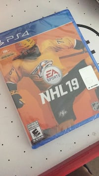 PS4 NHL19 brand new unopened Pickering, L1W