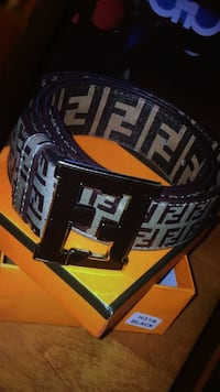 black and white Fendi belt Ottawa, K2C 3G1