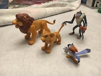 Disney Figurines from the 90s