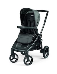 Peg perego team stroller and new car seat with base Vaughan, L4L