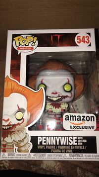 Pennywise Funko Pop Amazon Exclusive  Hyattsville, 20783