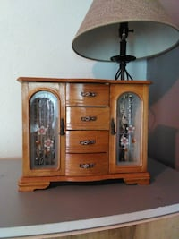 brown wooden cabinet with drawer Fort Dodge, 50501