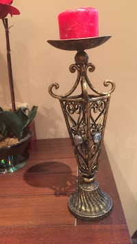 Brass candle holder antique