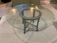 Glass Dining Table and Chairs Falls Church, 22043