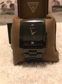 Black Guess watch can be unisex  Edmonton, T5P 1V7